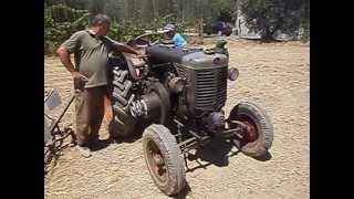 getlinkyoutube.com-messa in moto di un trattore LANDINI testa calda del 1956