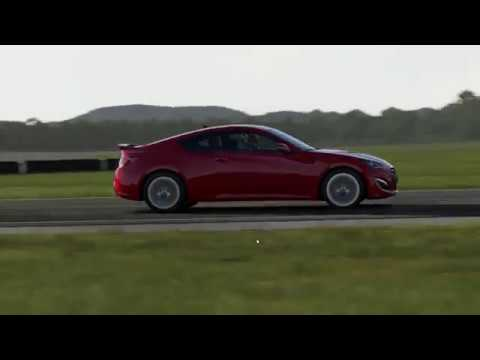Top Gear Test Track: Hyundai Genesis Coupe FORZA Apex