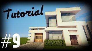 getlinkyoutube.com-Minecraft: Como hacer una casa moderna | #9 - Tutoriales construcciones!