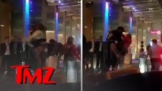 Migos' Quavo and Offset Tried Jumping a Guy Twice Their Size, Failed Miserably