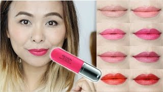 Revlon Ultra HD Matte Lip Color Review & Swatches | All 8 shades