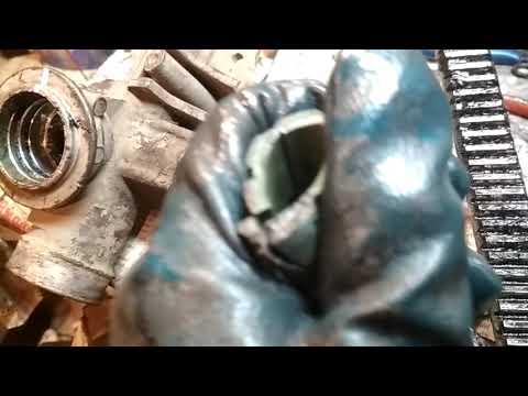 Последствия кривого ремонта рулевой реки Рено Меган-2