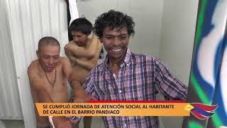 SE CUMPLIÓ JORNADA DE ATENCIÓN SOCIAL AL HABITANTE DE CALLE EN EL BARRIO PANDIACO