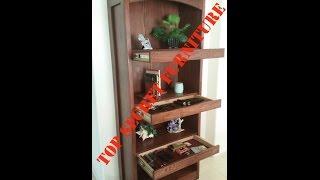 getlinkyoutube.com-Gun Concealment Bookcase with secret - hidden compartment by Top Secret Furniture