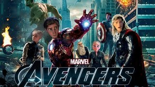 getlinkyoutube.com-❅ Multicrossover - The Avengers Trailer [Disney/Non Disney Style]