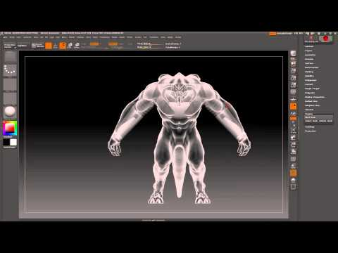 How to Pose Characters in Zbrush