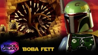 getlinkyoutube.com-LEGO Star Wars: Boba Fett escapes the Sarlacc