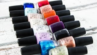 getlinkyoutube.com-OPI Venice Collection (fall/winter 2015) – Swatches and live application