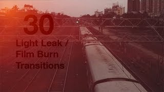 getlinkyoutube.com-Light Leaks / Film Burns (30 pack) .::. FCP / Premiere / AE / Vegas
