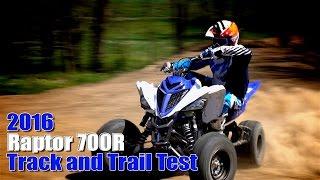 getlinkyoutube.com-2016 Yamaha Raptor 700R Track and Trail Test