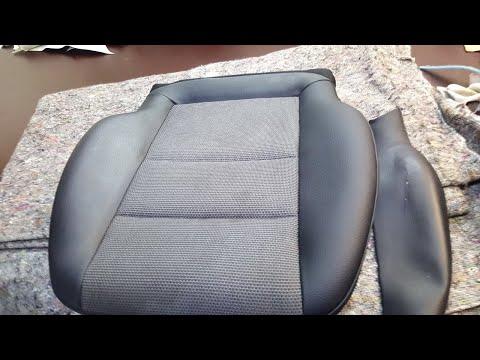 Ремонт сиденья Mercedes-Benz. Перетяжка салона автомобиля.