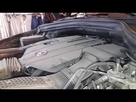 Лайфхак диагностика подушек мотора Mercedes