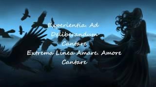 Lesiem Caritas- Lyrics