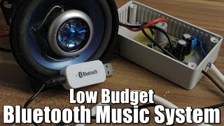 getlinkyoutube.com-Make your own Low Budget Bluetooth Music System || OpAmp
