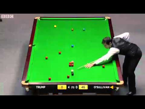 RONNIE O'SULLIVAN vs JUDD TRUMP UK MASTERS SNOOKER 2012  FRAME-5