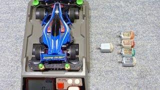 getlinkyoutube.com-ミニ四駆スピードチェッカー5種類のモーターチェック1 mini 4WD Speed CheckⅠ