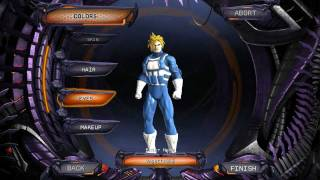getlinkyoutube.com-Vegeta/Trunks SSJ Character Creation DC Universe Online I LOVE YA HATERS