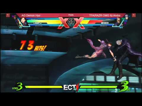 East Coast Throwdown 5:  Ultimate Marvel VS Capcom 3 AG Demon Hyo vs OMG Itz Andre