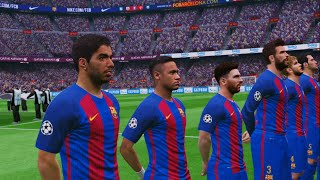getlinkyoutube.com-[HD] FC Barcelone vs Real Madrid - Classico Nouveaux Maillots 2017 PES 2016