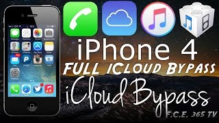 Bypass iPhone 4 iCloud With Full Activation And No Service Fixed (Windows)