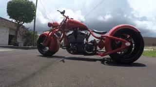 getlinkyoutube.com-The baddest custom trike!!  360mm rear tires, 330mm front tire 145hp, 145 torque,