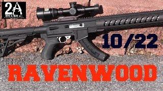 getlinkyoutube.com-Ravenwood / ATI AR22 stock for the 10/22.  Step by step DIY install