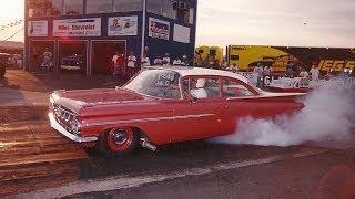 """getlinkyoutube.com-1959 Chevy Biscayne """"BISQWK"""" Nostalgia Drag"""