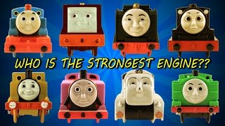 getlinkyoutube.com-Thomas and Friends 6 World's Strongest Engine Trackmaster ThomasToyTrains