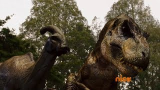 getlinkyoutube.com-Power Rangers Dino Charge - Powers From the Past -  Chosen Dinosaurs and Extinction (Energems)