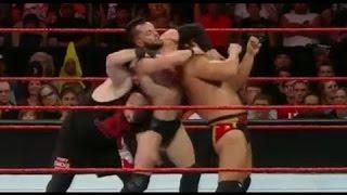 getlinkyoutube.com-Cesaro vs Rusev vs Kevin Owens vs Finn Balor wwe raw 25 july 2016 full match - Wresting Match