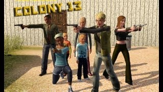 The Sims 3: Colony 13 Part 1 Meet The Colonists - Dale is that you?!