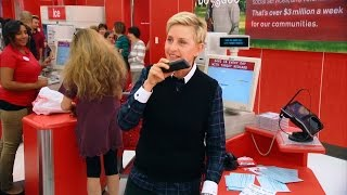 getlinkyoutube.com-Ellen Goes Holiday Shopping at Target