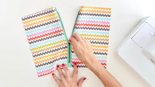getlinkyoutube.com-How to Sew a Zipper, TWO ways