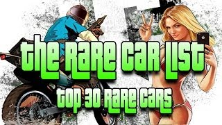 "getlinkyoutube.com-GTA 5 Rare Car Locations ""Top 30 Rare Cars In GTA 5"" GTA 5 Online Rare Cars  - GTA V"