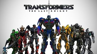 getlinkyoutube.com-Transformers: The Last Knight - Cast Robots