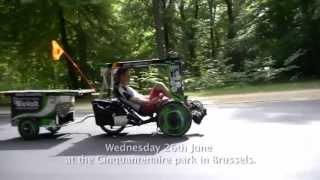 getlinkyoutube.com-Kazak Trike #1 - The solar bike ready to go!
