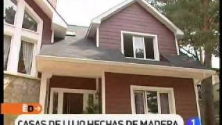 getlinkyoutube.com-Reportaje de España Directo sobre casas canadienses de Canexel Const.