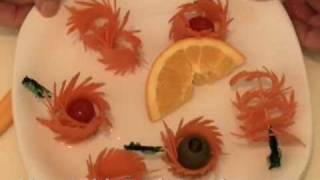 getlinkyoutube.com-Fancy Carrot Garnishes