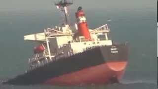 Live ship sinking