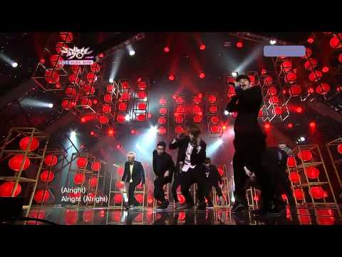 "Super Junior ""RETURN OF THE SUPERIORS""- Mr.Simple Come Back Stage (Aug 5 2011 - Music Bank)"