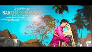 getlinkyoutube.com-Wedding Teaser | B A R K H A & M A N I S H | Same Day Edit | Grand Hyatt Goa.