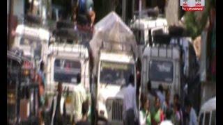 टिहरी/जौनपुर: 2013 की आपदा में तबाह हुआ टैक्सी स्टैंड नहीं बन पाया है 3 साल बाद भी