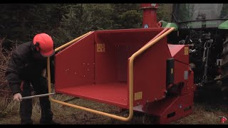 getlinkyoutube.com-TP 200 PTO - a strong and popular wood chipper