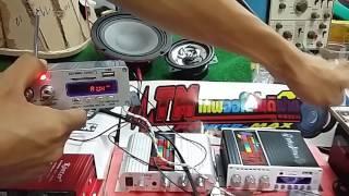 getlinkyoutube.com-วิธีต่อใช้งาน แอมป์จิ๋ว ติดมอไชค์ มีFM USB Bluetooth ซัพแยกอิสระ