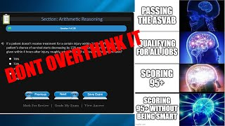 getlinkyoutube.com-How to score 95+ on the ASVAB - WITHOUT BEING SMART (Arithmetic Reasoning Walkthrough)