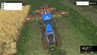 getlinkyoutube.com-Farming Simulator 2015 | Le Guide Des Débutants | Ep 05 - L'Herbe, Le Foin Et La Paille