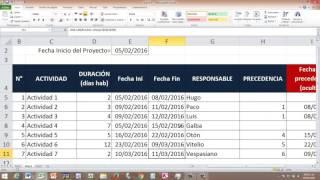 PODEROSO CRONOGRAMA SOLO CON EXCEL BSD