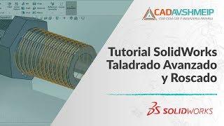 getlinkyoutube.com-Tutorial SolidWorks Taladrado avanzado y roscado