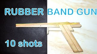 getlinkyoutube.com-WORLDS MOST SIMPLEST | FULLY-AUTOMATIC | RUBBER BAND GUN (10 SHOT)
