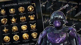 getlinkyoutube.com-(Info Maj AW) New prestige, avoir des armes Elites EASY avec les prestige et Tenue Grand Maître
